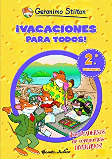 ¡Vacaciones para todos! 2: De segundo a tercero de primaria