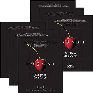 MCS 8x10 Inch Format Frame 6-Pack, Black (65608)