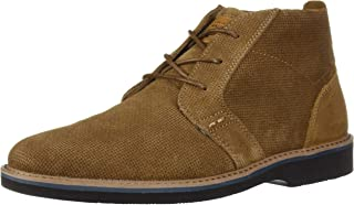 Nunn Bush Bromley Plain Toe Chukka Boot Suede Leather with Comfort Gel and Memory Foam