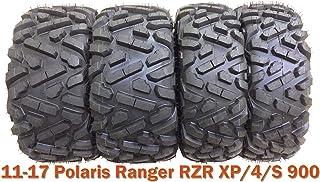 4 WANDA ATV UTV Tires 27x9-12 & 27x11-12 for 11-17 Polaris Ranger RZR XP/4/S 900