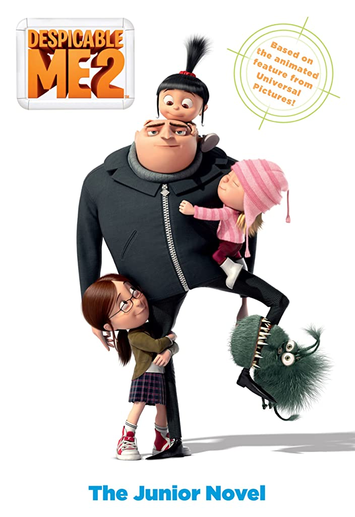 ヘルメット葉巻チェリーDespicable Me 2: The Junior Novel (English Edition)