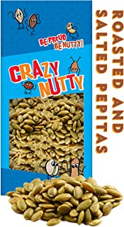Roasted & Salted Pepitas - 1 Pound, Great Healthy Snacks for Adults & Kids, Vegan, Gluten-free, Power Snack