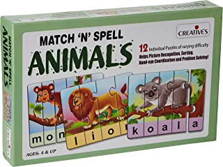 Creative's CRE0640 Educational Toys & Games 3 Years & Above,Multi color