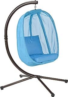 Flower House FHEC100-LB Egg Chair, Light Blue