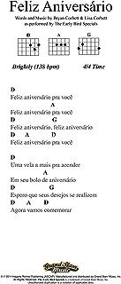 Happy Birthday - Lead Sheet - Portuguese