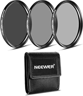 NEEWER 62MM減光(ND)フィルターセット (ND2 ND4 ND8)+クリーニングクロス PENTAX 18-135mm f/3.5-5.6ALズームレンズ  SONY Alpha18-135mm f/3.5-5.6ズームレンズに対応 【並行輸入品】