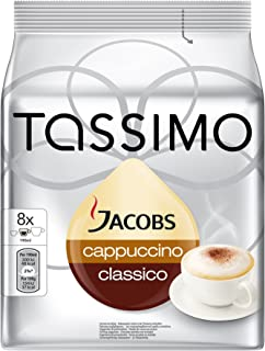 Tassimo GERMAN Jacobs Cappuccino Classico- Pack of 1-Imported-Now shipping from USA