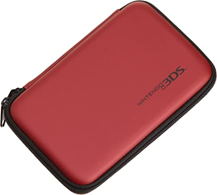 AmazonBasics Carrying Case for Nintendo, New 3DS XL, 3DS XL, Red