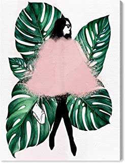 Wynwood Studio Fashion and Glam Wall Art Canvas Prints 'Among The Leaves' Home Décor, 24