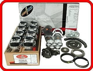 Engine Rebuild Overhaul Kit FITS: 1970-1979 Chevrolet BBC 454 7.4L V8 w/Flat-Top Pistons