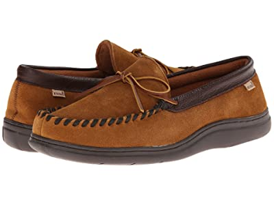 L.B. Evans Atlin (Saddle Suede W/Terry Lining) Men