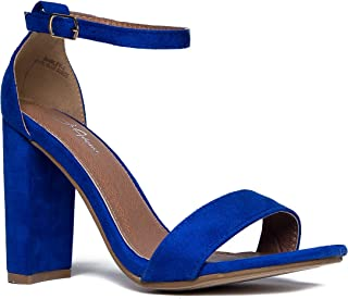 Best electric blue strappy heels Reviews