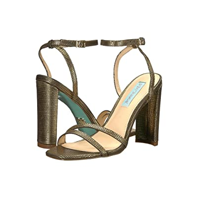 Blue by Betsey Johnson Mady (Gold) High Heels