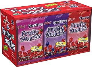 Kellogg's Fruity Snacks 36 Pouch Variety Pack Net Wt. 5lb 10oz