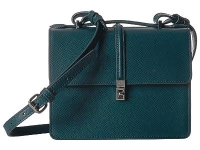 Vivienne Westwood Sofia Medium Shoulder Bag (Petrol) Handbags