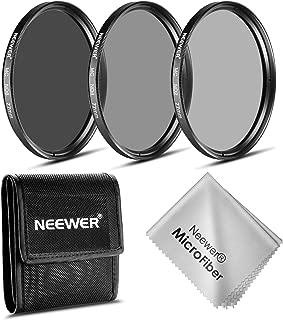 Neewer 77MM NDフィルターキット(ND2 ND4 ND8)+クリーニングクロース CANON EF 24-105mm f/4 L IS USMズームレンズ・NIKON 28-300mm f/3.5-5.6G ED VR II AF-Sズームレンズに対応