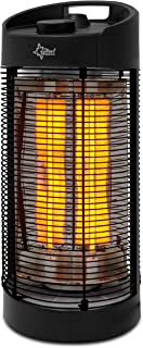 Suntec Wellness 14673 Calefactor Radiante Carbono, Negro