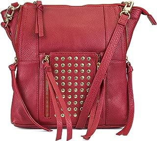 Eve Studded Leather Crossbody