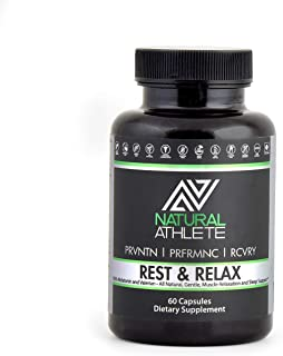 Rest and Relax | Natural Sleep Aid with Valerian Root, Melatonin, Chamomile & Magnesium | Wake Up Feeling Rested | Non-Hab...