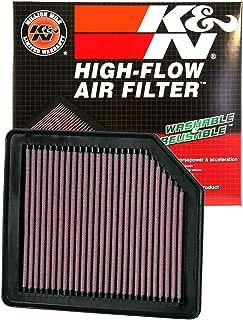 K&N engine air filter, washable and reusable:  2005-2014 Honda (Stream, Civic, Civic GX, Civic VIII, Crossroad, FR-V) 33-2342