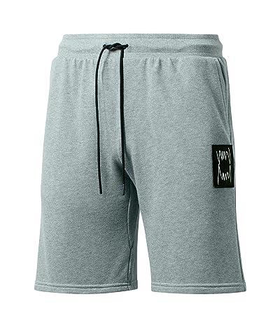 PUMA Pivot Shorts (Medium Gray Heather) Men