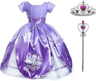 Diseños Candys - Vestido de Princesa Sofía/Disfraz de Prin