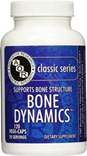 Advanced Orthomolecular Research AOR Bone Dynamics Vitamin, 120 Count