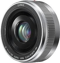 PANASONIC LUMIX G II Lens, 20MM, F1.7 ASPH, MIRRORLESS Micro Four Thirds, H-H020AS (USA Silver)