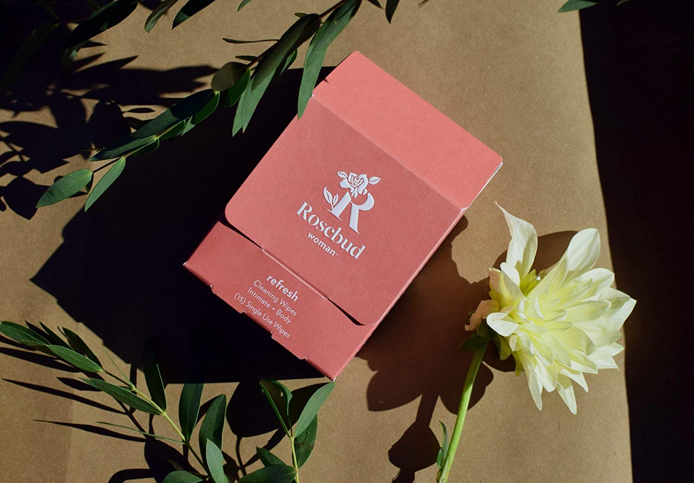 Rosebud Woman Arlington Mall Overseas parallel import regular item Refresh Intimate Cleansing Soft Super Wipes - Wipe