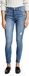 MOTHER Women's Stunner Ankle Fray Jeans