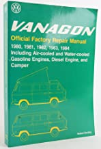 Volkswagen Vanagon official factory repair manual: 1980, 1981, 1982, 1983, 1984, including air-cooled and water-cooled gasoline engines, diesel ... (Robert Bentley complete service manuals)