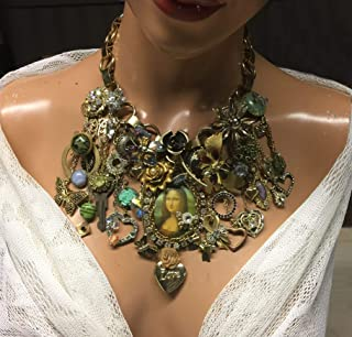 recycled vintage couture jewelry