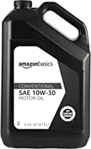 AmazonBasics Conventional Motor Oil, 10W-30, 5 Quart