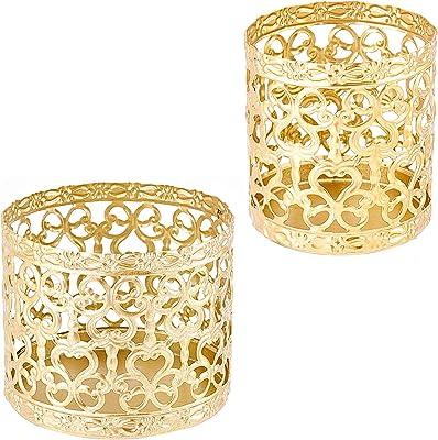 Golden Colour Handmade Moroccan Tea Light Candle holder