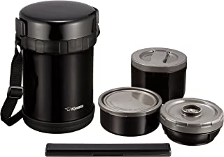 ZOJIRUSHI 象印 保温便当盒 不锈钢午餐组合 【容量约3茶碗的米饭容量】 SL-GH18-BA