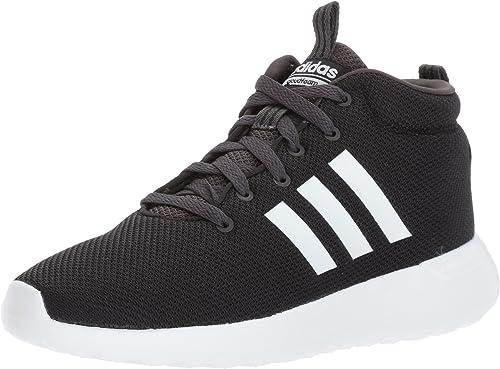 Adidas Hommes's CF LITE Racer MID FonctionneHommest chaussures, blanc Utility noir, 9.5 Medium US