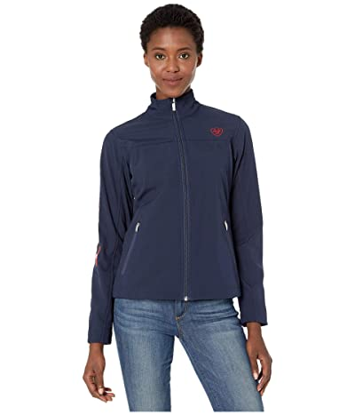 Ariat New Team Softshell Jacket (Navy USA) Women