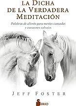 LA DICHA DE LA VERDADERA MEDITACIÓN: Palabras de aliento para mentes cansadas y corazones salvajes (Spanish Edition)