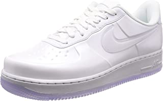Nike Men's AIR Force 1 Foamposite PRO Cupsole Shoe Triple White
