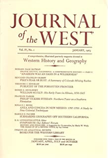 Journal of the West, Western History and Geography, Vol. IV, No. 1, January 1965