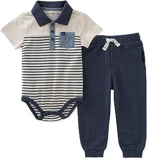 Calvin Klein - Juego de Pantalones de bebé (2 Piezas)