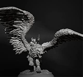 Risjc 70 mm sci-fi-tema forntida flygande lejon riddare harts modellkit omonterad och omålad soldatkomponent — 93RJ24