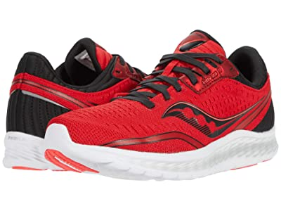 Saucony Kinvara 11 (Red/Black) Men
