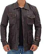 Best mens leather field jacket Reviews