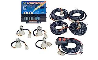 Wolo (8004-1CCCC) Lightning 80 Watt Power Supply Four Bulb Emergency Warning Strobe Kit - 4 Clear Bulbs