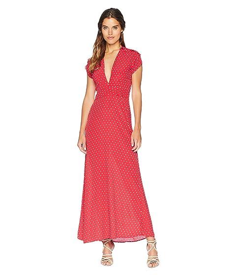 Flynn Skye Valentina Maxi Dress, CHERRY DOTS