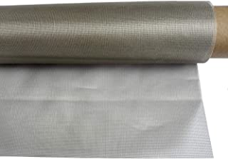 Nickel Copper Electromagnetic Shielding Window Fabric Transparent Clear Mesh Gauze Tulle Type