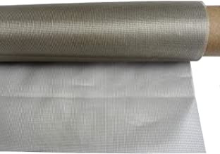 Nickel Copper Electromagnetic Shielding Window Fabric Transparent Clear Mesh Gauze Tulle Type 197