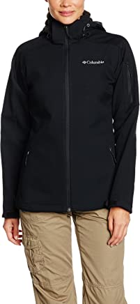 (X-Small, Black) - Columbia Women's Cascade Ridge J Soft Shell Top