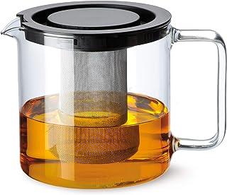 Bohemia Cristal 093 006 005 Simax dzbanek do herbaty cylindryczny 1,3 l z odpornego na wysokie temperatury szkła borokrzem...